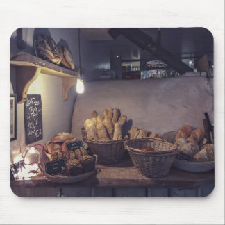 Pastry Themed, Vintage Bakery And Pastry Shop Inte Mouse Pad