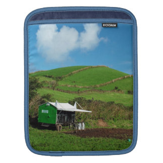 Pasture and dairy equipment sleeve for iPads