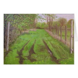 """""""Pasture Lane"""" Card"""