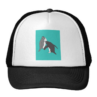 Pastures Blue and Bright Trucker Hat