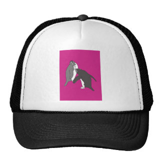 Pastures Pink and Bright Trucker Hat