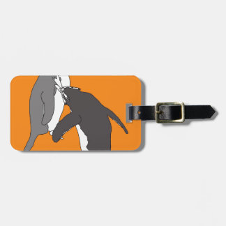 Pastures Yellow and Bright Tag For Bags