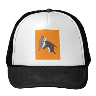 Pastures Yellow and Bright Trucker Hat