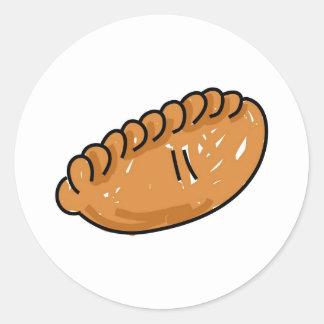 Pasty Classic Round Sticker