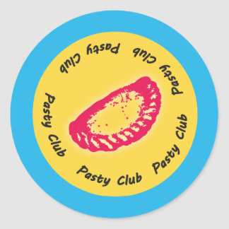 Pasty Club, Everyone loves a Pasty! Classic Round Sticker