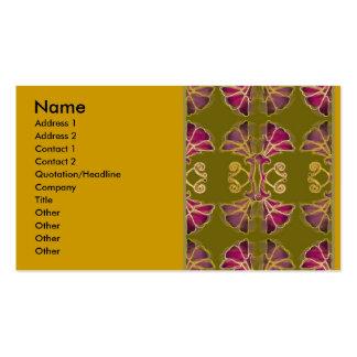 pat2, nombre, dirección 1, dirección 2, contacto 1 tarjetas de visita