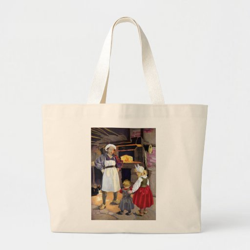 Pat-A-Cake Baker and Children Nursery Rhyme Tote Bags