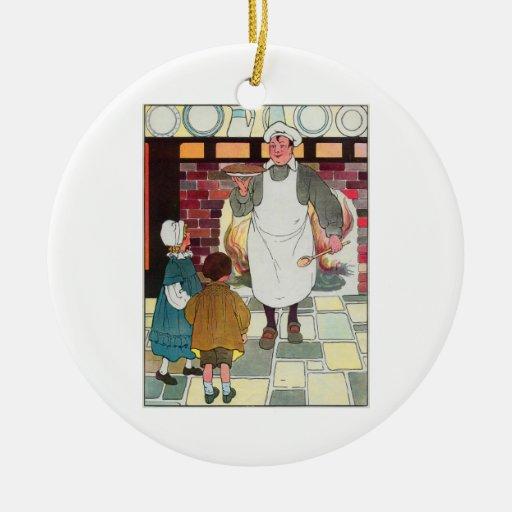 Pat-a-cake, pat-a-cake, Baker's man! Ornaments
