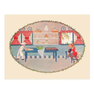 Pat-a-Cake Postcard