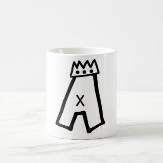 Pat Aldrich A-crown logo mug
