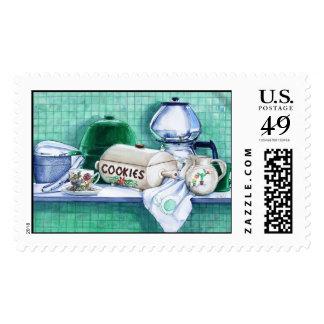 Pat and Phyllis' Koffee Klatch Postage Stamp