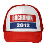 PAT BUCHANAN 2012 TRUCKER HATS