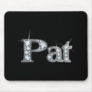 "Pat ""Diamond Bling"" Mousepad"
