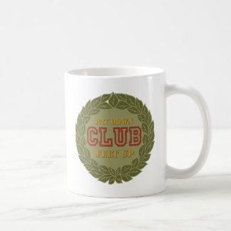 Pat Down Club Coffee Mug