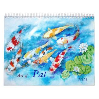 PAT MADAMBA calender 2011 Calendars