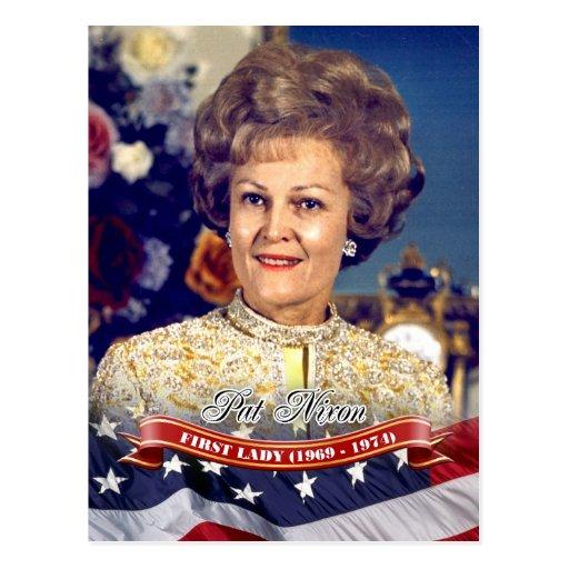 Pat Nixon, First Lady of the U.S. Postcards