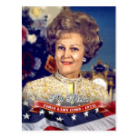 Pat Nixon, primera señora de los E.E.U.U. Tarjetas Postales