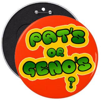 ¿Pat o Geno Pins