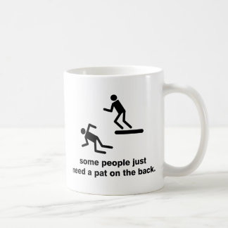 Pat On The Back Coffee Mug