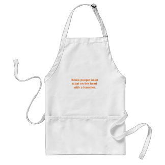 Pat on the Head Adult Apron