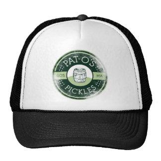 Pat-O's Pickles Vintage Trucker Hat