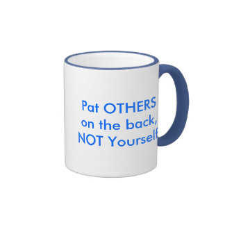 Pat OTHERS on the back Mugs