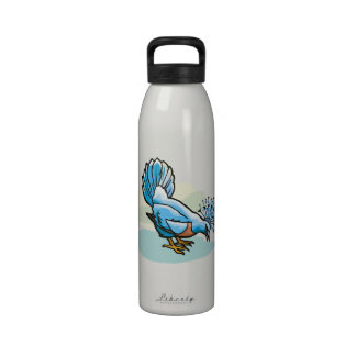 Pat Pigeon.png Reusable Water Bottle