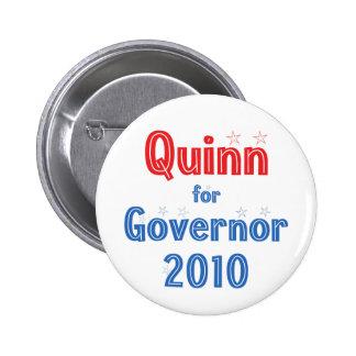Pat Quinn para el diseño de la estrella del gobern Pin Redondo 5 Cm