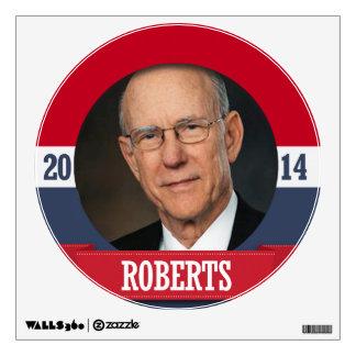 PAT ROBERTS CAMPAIGN WALL DECAL