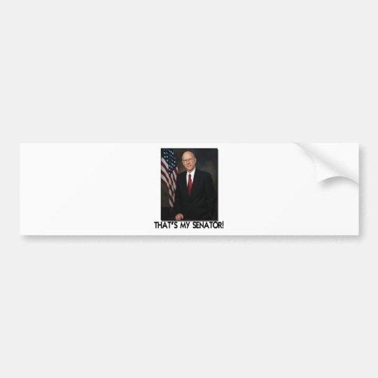 Pat Roberts, That's My Senator! Bumper Sticker