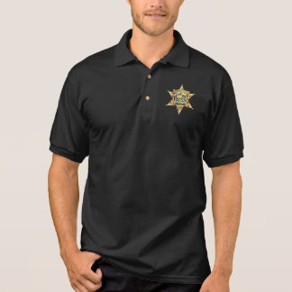 Pat Russo for Sheriff  Black Polo
