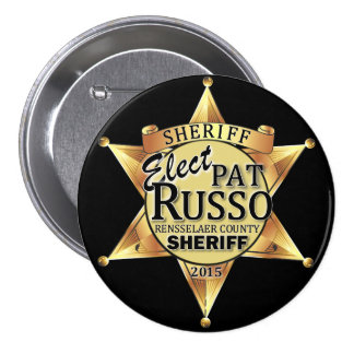 Pat Russo for Sheriff Button