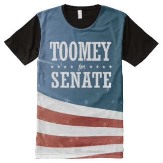Pat Toomey 2016 All-Over-Print Shirt