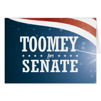 Pat Toomey 2016 Card