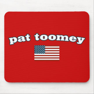 Pat Toomey American Flag Mouse Pad