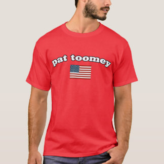 Pat Toomey American Flag T-Shirt