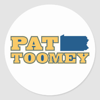 Pat Toomey for Pennsylvania Classic Round Sticker