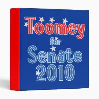 Pat Toomey for Senate 2010 Star Design Binder