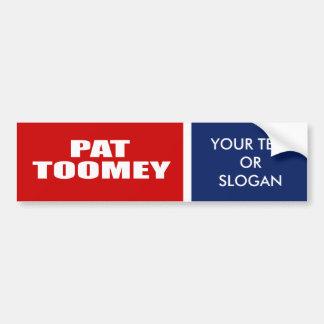PAT TOOMEY FOR SENATE CAR BUMPER STICKER