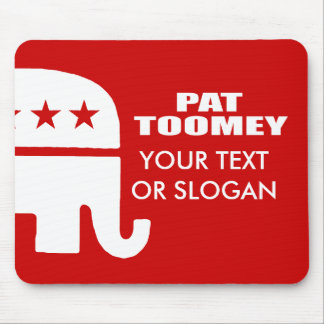 PAT TOOMEY FOR SENATE MOUSE PAD