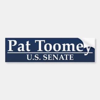 Pat Toomey U.S. Senate Car Bumper Sticker