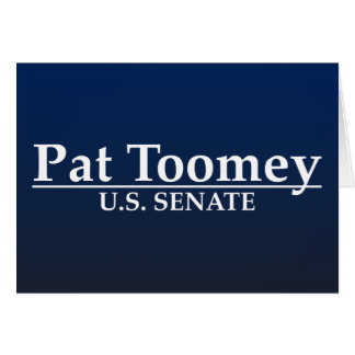 Pat Toomey U.S. Senate Card