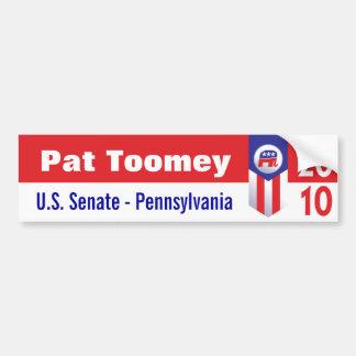 Pat Toomey U.S. Senate Pennsylvania Car Bumper Sticker