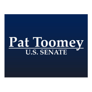 Pat Toomey U.S. Senate Postcard