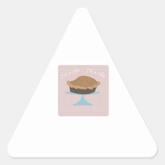 Pat-UNO-Torta Pegatinas Triangulo
