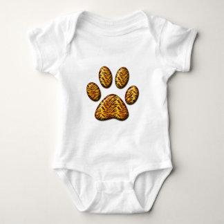 Pata #1 del tigre body para bebé