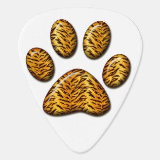 Pata #1 del tigre púa de guitarra