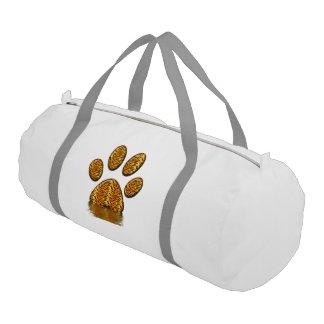 Pata #2 del tigre bolsa de deporte
