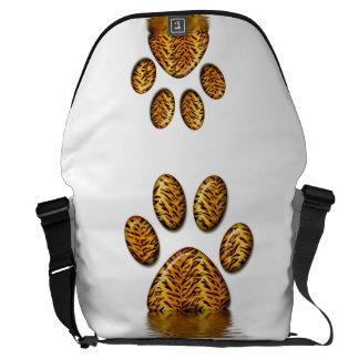 Pata 2 del tigre bolsas de mensajeria