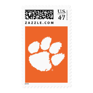 Pata 2 del tigre de la universidad de Clemson Timbre Postal